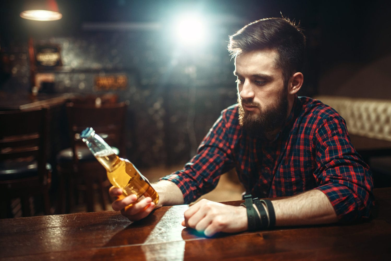 Man knows he must be quitting alcohol