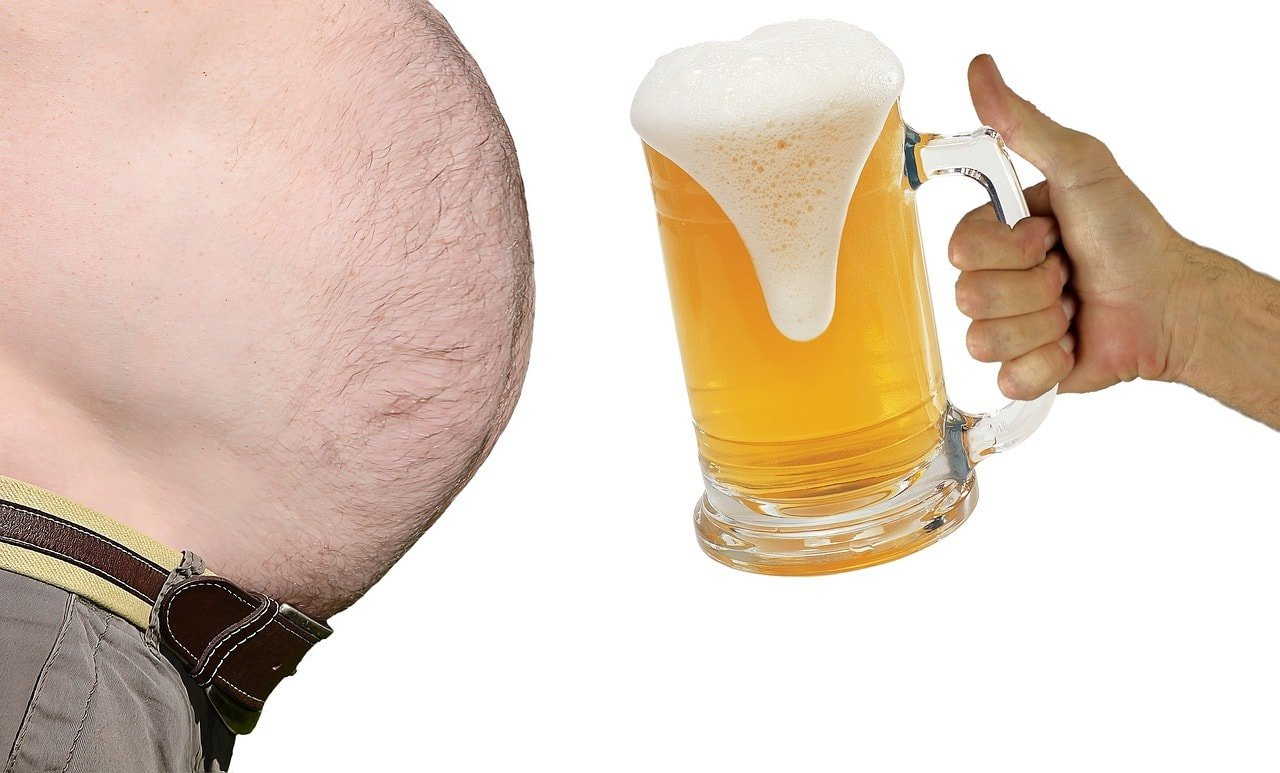 Demonstration of alcohol weight loss